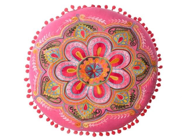 Almofada Mahesh em tecido Tok&Stok, R$ 164,90*