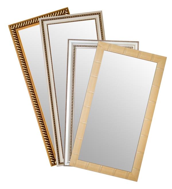Espelhos com moldura, R$ 149,99 na Havan