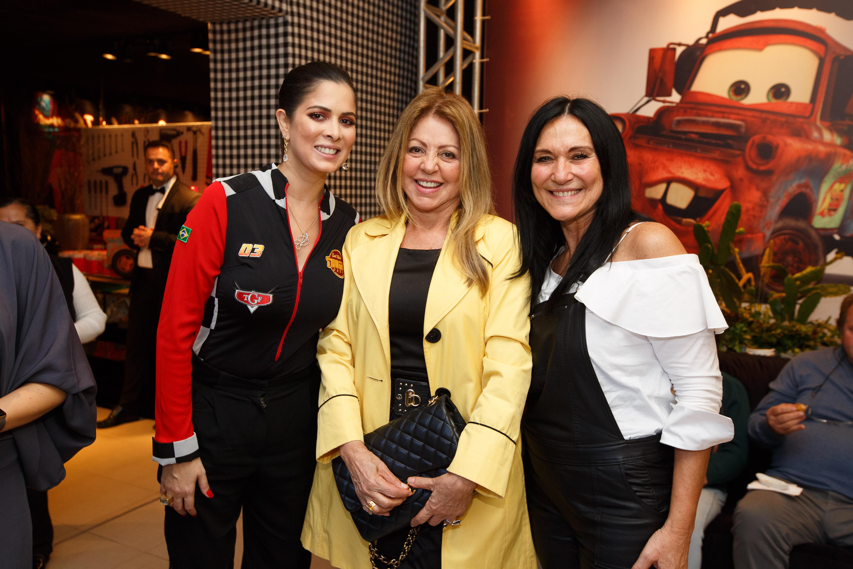 Fernanda Thomé, Neuza Madalosso e Ilse Lambach. Foto: Gus Wanderley